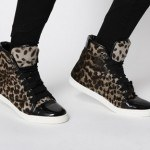 animal print zapatillas