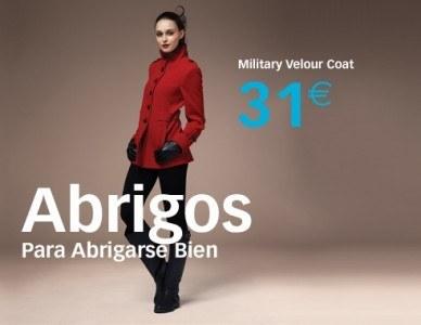 Catalogo Primark abrigo