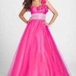 vestido graduacion rosa