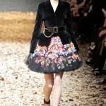 falda princesa flores