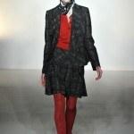 traje chaqueta minifalda