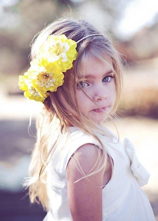Flower Girl Halo Headband