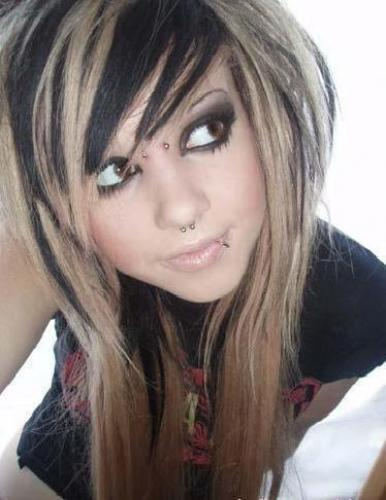 Young Tattooed Emo Blonde