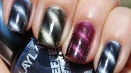 Pintarse las uñas con un imán
