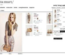 Sita Murt y la tienda online de su diseñadora