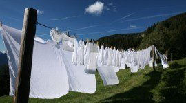 Cómo tender la ropa adecuadamente