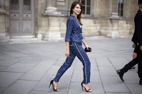 Moda en pijama