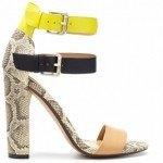 zapato serpiente