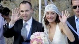 Vestido de novia de Anna Ortiz en su boda con Andrés Iniesta