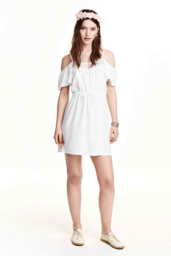Vestidos blancos para una fiesta ibicenca