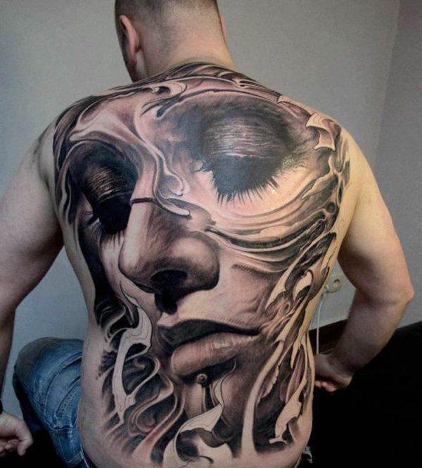 fotos-de-tatuajes-3d-cara-espalda