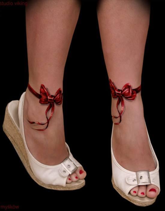 fotos-de-tatuajes-3d-lazos-tobillos
