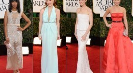 Los mejores vestidos de los Globos de Oro 2013