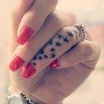 tatuaje estrella mano