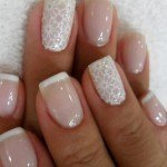 Wedding nail art 2013