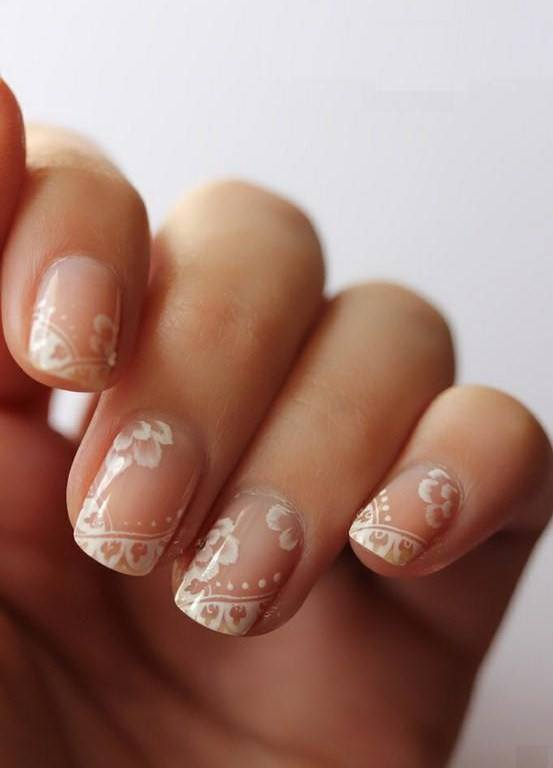 nails art wedding