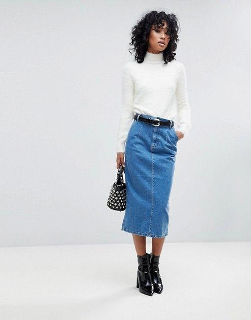 c63f0de85 Las faldas de moda en Primavera Verano 2019 - ModaEllas.com
