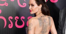 Los tatuajes de Angelina Jolie 2018