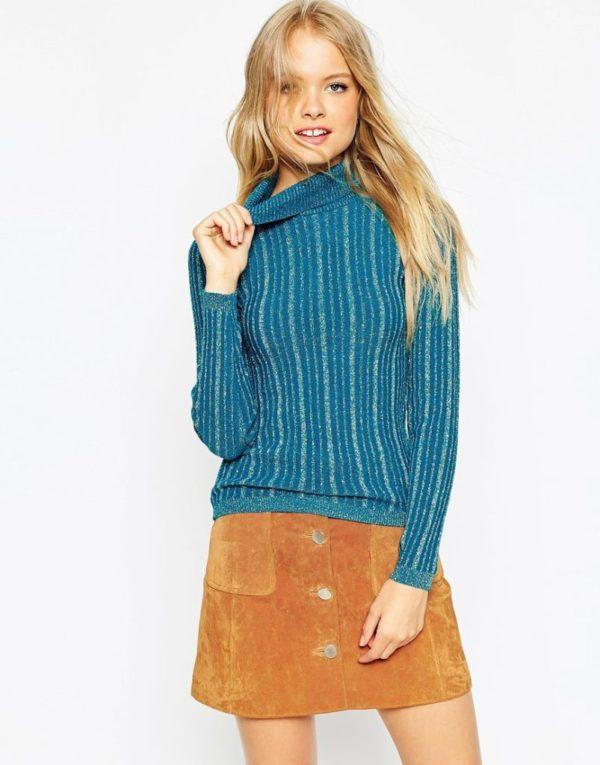 moda-adolescentes-otoño-invierno-2015-2016-jersey-falda-inspiración-retro-años-60