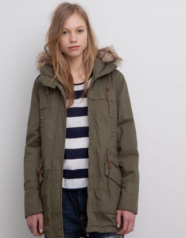 moda-adolescentes-otoño-invierno-2015-2016-parka-verde