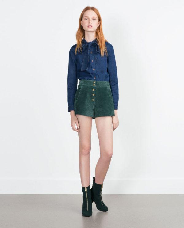 moda-adolescentes-otoño-invierno-2015-2016-tendencia-denim-camisa-lazo