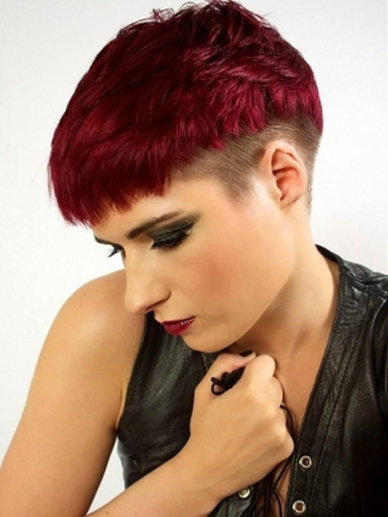 pelo corto teido - Pelados Cortos Mujer