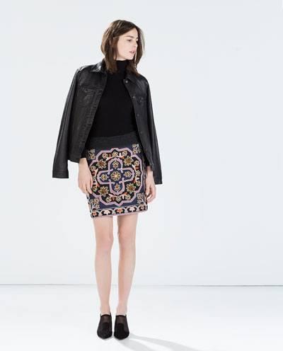 catalogo-zara-mujer-otono-invierno-2014-2015-falda-punto-bordado