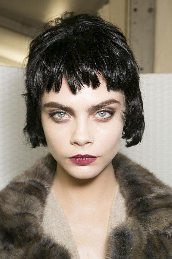 corte flequillo desestructurado e1374596837922 Cortes de pelo de mujer otoño invierno 2013   2014