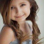 peinado trenzas sueltas 150x150 Cortes de pelo para niñas otoño invierno 2013  2014