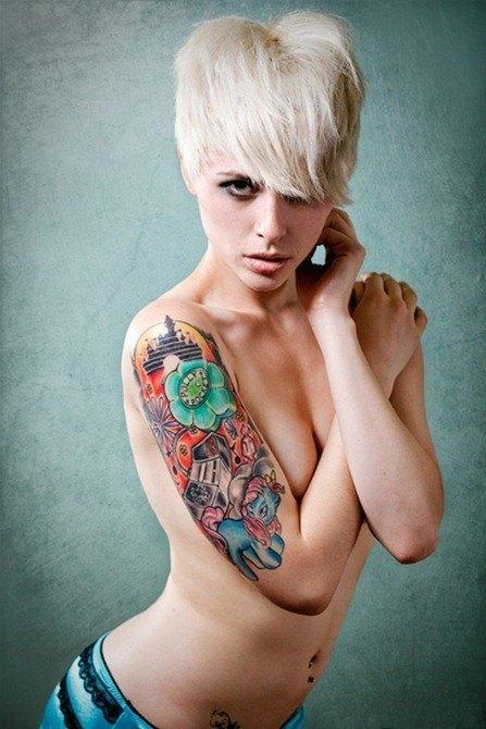 Las fotos de tatuajes de mujeres ModaEllascom
