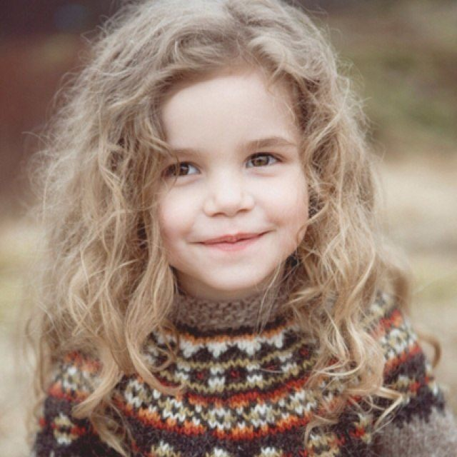 niña corte pelo