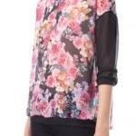 stradivarius flores camisa 150x150 Catálogo Stradivarius otoño invierno 2013 2014 | Mujer