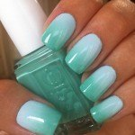 Minty ombre