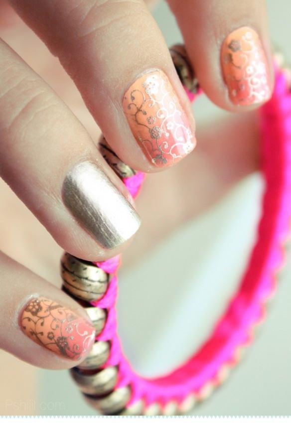 Los estilos en la decoración de uñas 2015