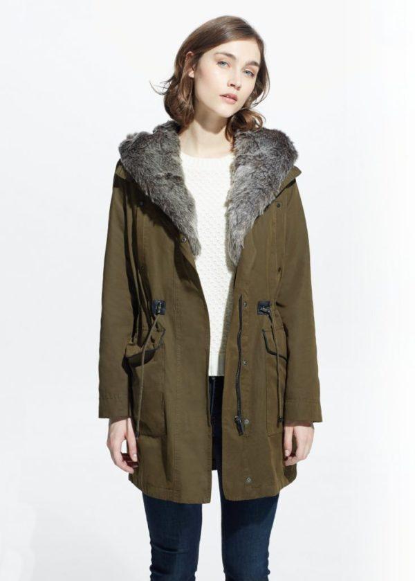 abrigos-mujer-otono-invierno-2015-2016-abrigo-militar-estilo-parka-mango