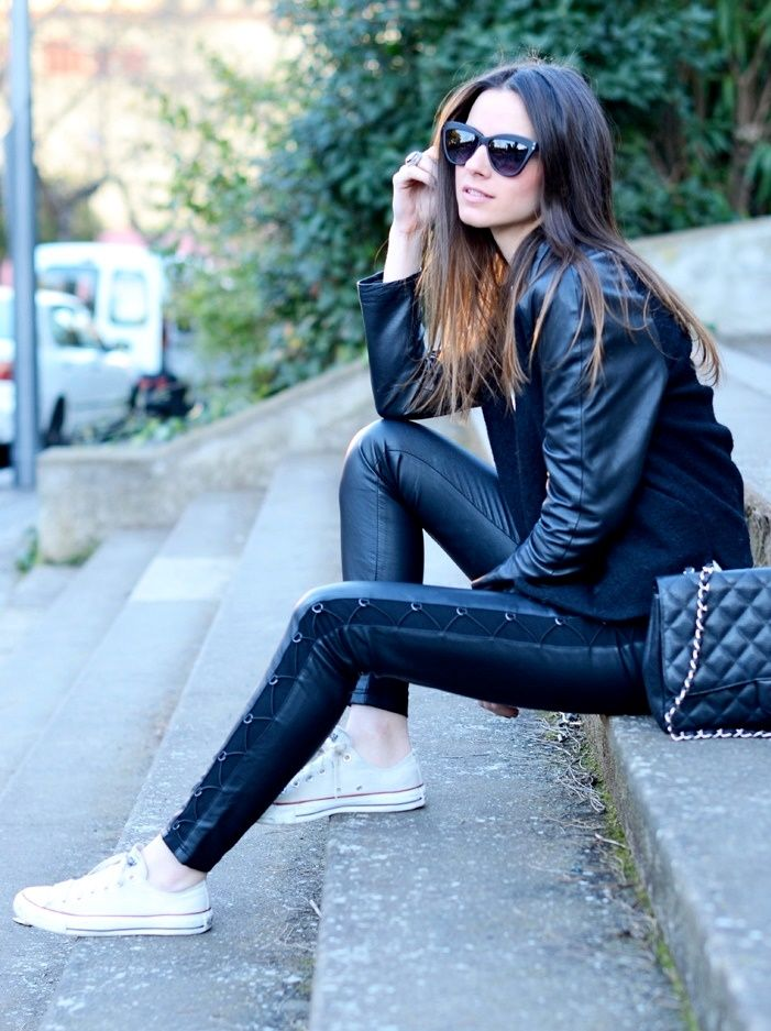 look casual con converse