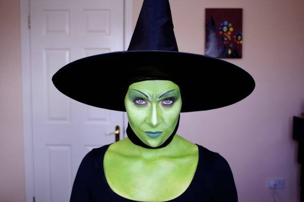 Makeup-of-terror-for-halloween-2014-witch