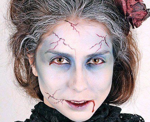 Make-up-horror-for-halloween-2014-zombie