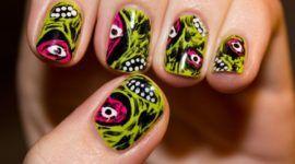 Decoración de uñas | Halloween 2014