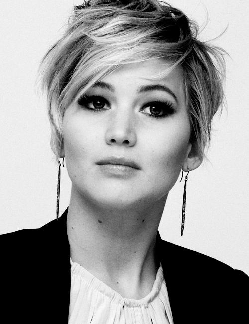 Jennifer Lawrence Corte de pelo pixie 2013