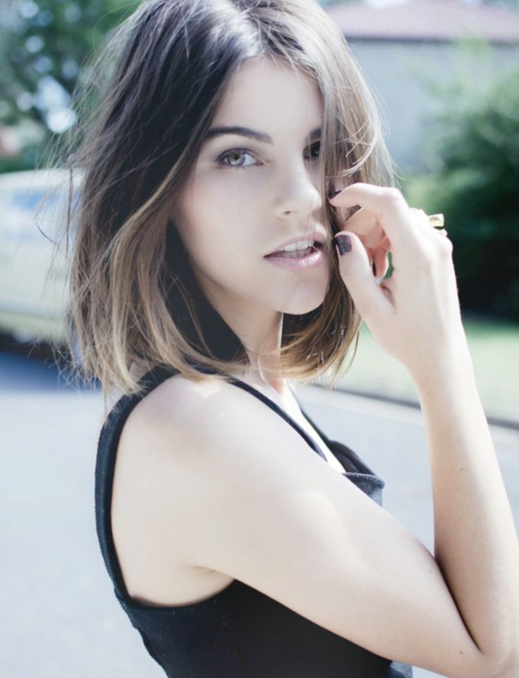 Short Bob Ombre Hair