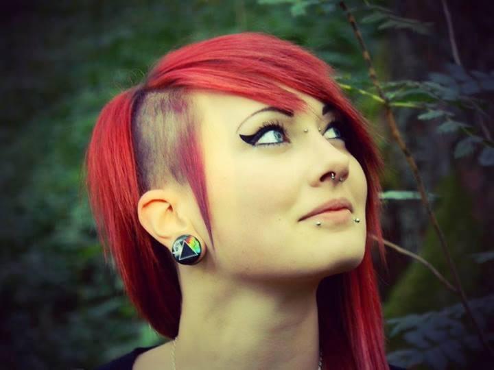Cortes de cabello y peinados Emo para chicas Invierno