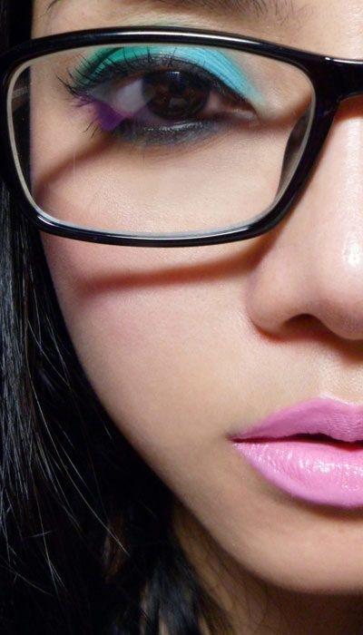 trucos maquillaje con gafas