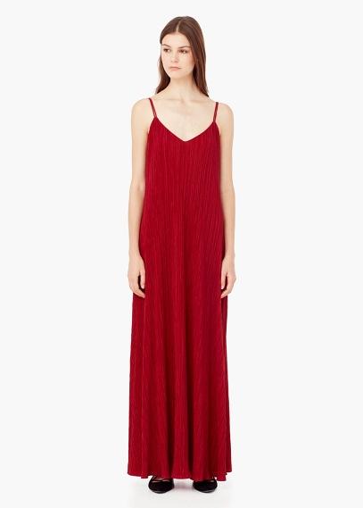 vestidos-otono-invierno-2015-2016-vestido-largo-rojo-de-fiesta-de-mango