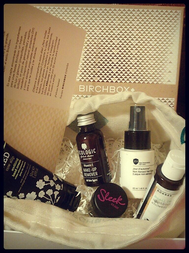 Birchbox diciembre 2013