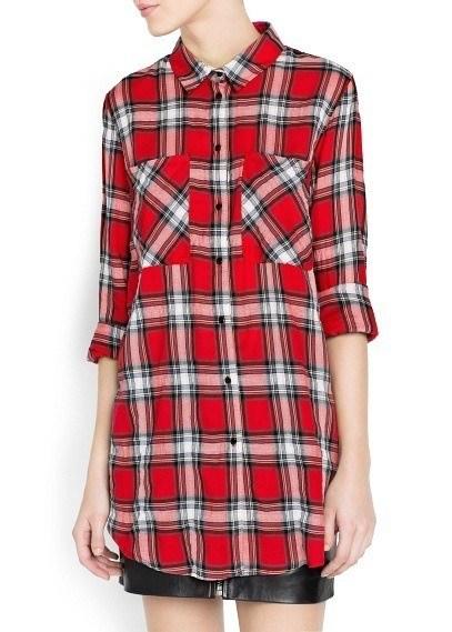 camisas-mujer-2014-tendencias-camisa-cuadros-tartan-mango