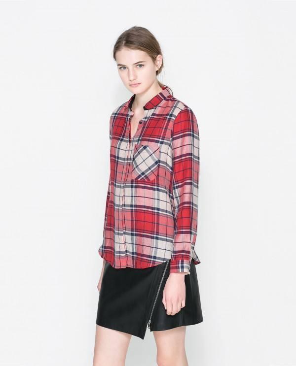 camisas-mujer-2014-tendencias-camisa-cuadros-zara