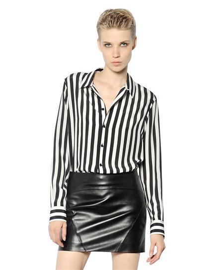 camisas-mujer-2014-tendencias-camisa-rayas-saint-lauren