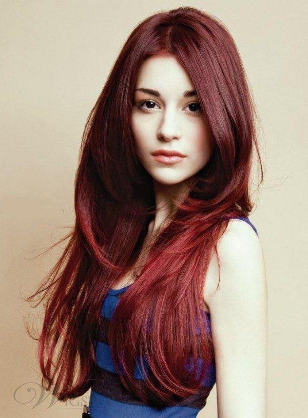 pelo largo mistressmistress cabello rojo