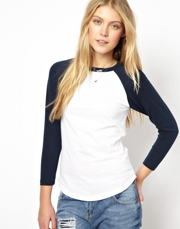 tendencias-camisetas-mujer-2014-beisbol-asos